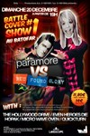 Battle cover show # 1 : Paramore vs new found glory -