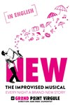 NEW : The Improvised Musical | Spectacle en anglais -