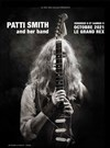 Patti Smith and her band -