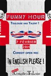 Funny hour : comedy open mic in English ! -