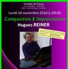 Hugues Reiner au piano -